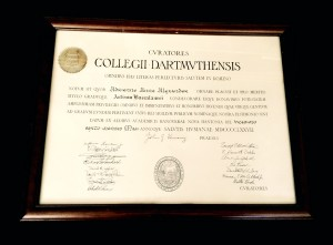 Dartmouth-Diploma